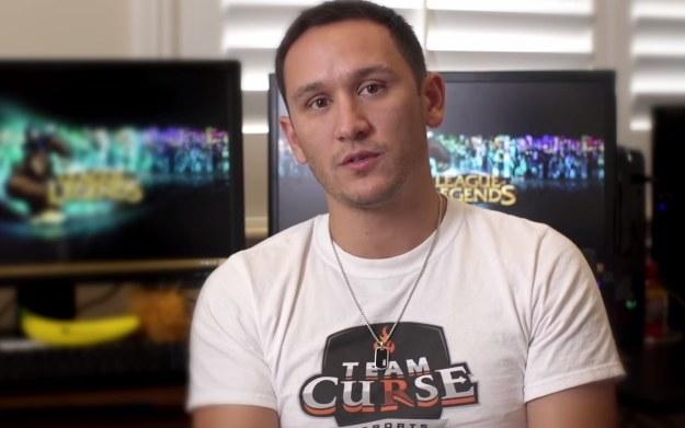 """Steve Arhancet - fragment wywiadu przeprowadzonego na kanale """"QuestGaming"""" w serwisie youtube.com /materiały źródłowe"""