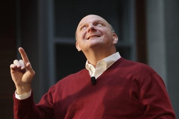 Steve Ballmer, dyrektor zarządzający Microsoft, pokłada ogromne nadzieje w cloud computingu /AFP