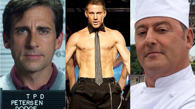 Steve Carell: Przyjaciel do końca świata, Channing Tatum: Magic Mike, Jean Reno: Facet od kuchni /materiały dystrybutora