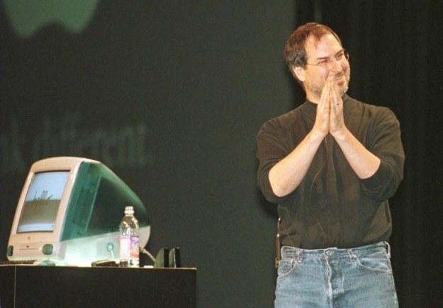 Steve Jobs, rok 1998 /AFP
