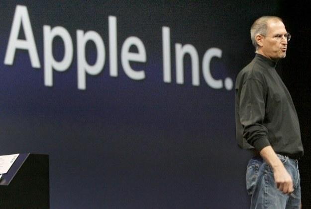 Steve Jobs zmienił oblicze firmy Apple i uczynił z niej potęgę /AFP