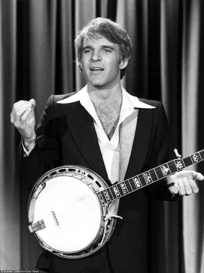 "Steve Martin w programie ""The Tonight Show Starring Johnny Carson"" /NBC / Everett Collection  /East News"