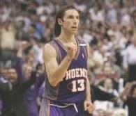 Steve Nash poprowadził Phoenix Suns do finału Konferencji Zachodniej /AFP