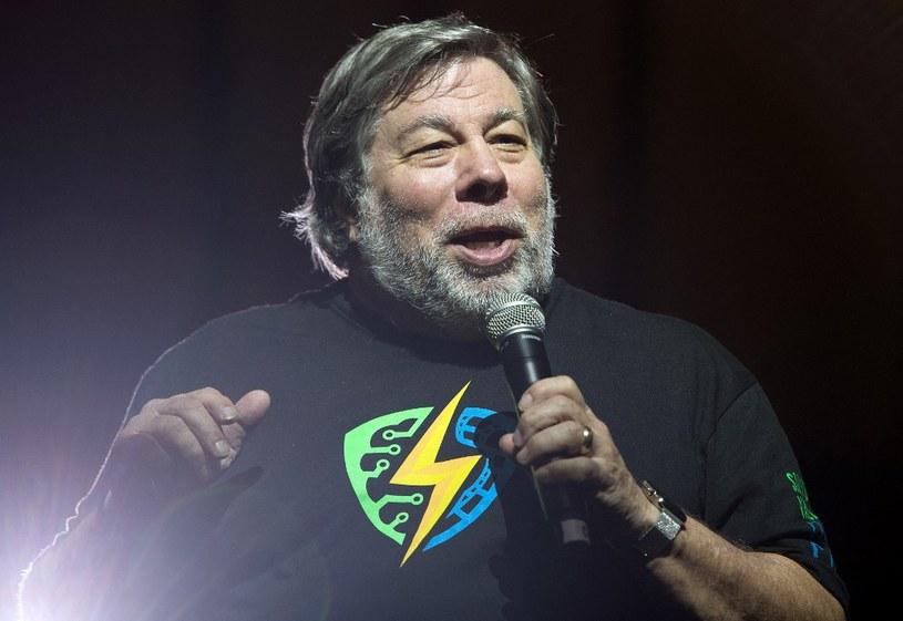 Steve Wozniak, współzałożyciel Apple /AFP