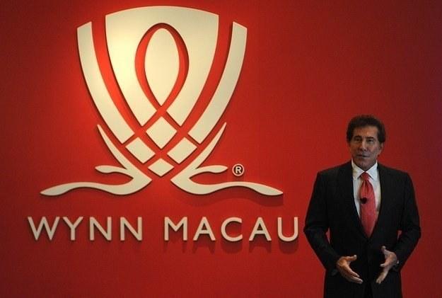 Steve Wynn, szef Wynn Resorts, dorobił się pokaźnej fortuny w wieku 51 lat /AFP