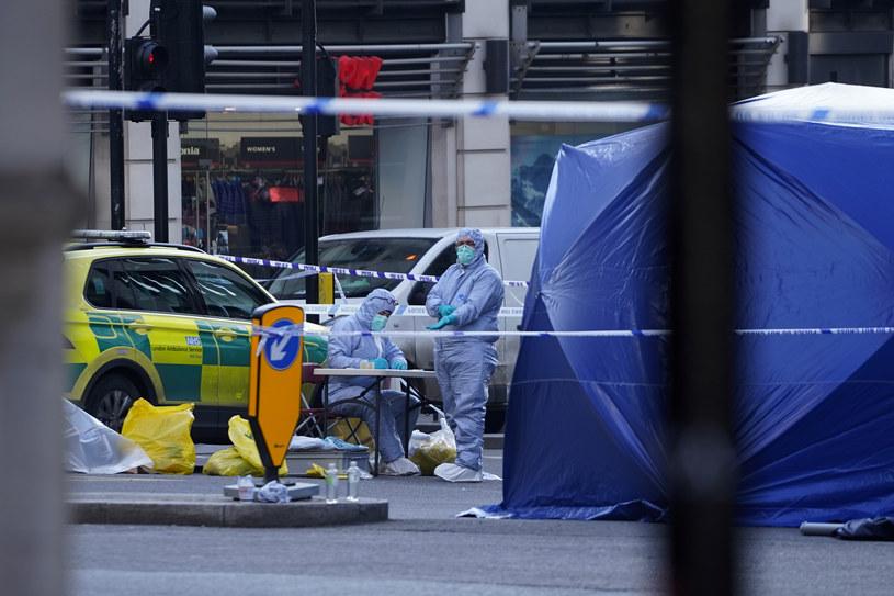 Steven Gallant był jedną z osób biorących udział w próbie obezwładnienia terrorysty na London Bridge /AFP