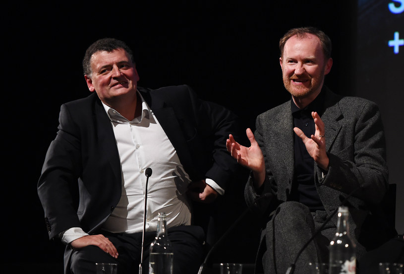 Steven Moffat i Mark Gatiss /Eamonn M. McCormack /Getty Images