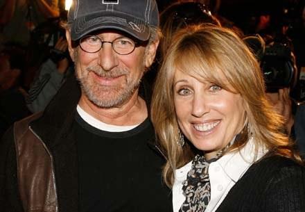 Steven Spielberg i Stacey Snider mają apetyt na sześć filmów rocznie - fot. Kevin Winter /Getty Images/Flash Press Media