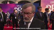 """Steven Spielberg na uroczystej premierze filmu """"BFG: Bardzo Fajny Gigant"""""""