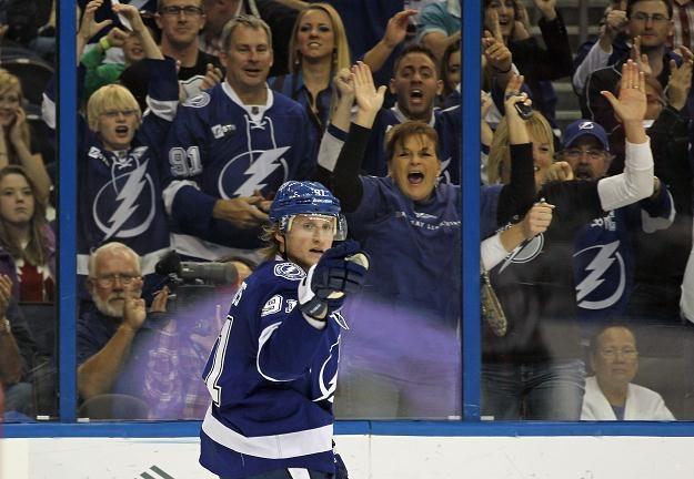 Steven Stamkos z Tampa Bay Lightning/fot. Bruce Bennett /Getty Images