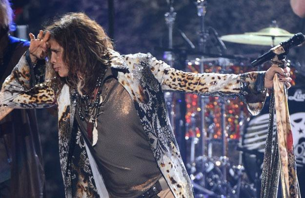 "Steven Tyler (Aerosmith) najwyraźniej ma już dosyć ""Idola"" fot. Mark Davis /Getty Images/Flash Press Media"