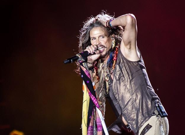 Steven Tyler (Aerosmith) w Atlas Arenie w Łodzi /fot. Bartosz Nowicki