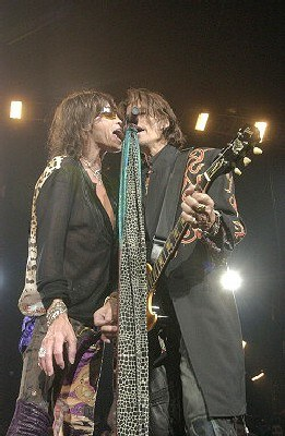 Steven Tyler i Joe Perry (Aerosmith) /AFP