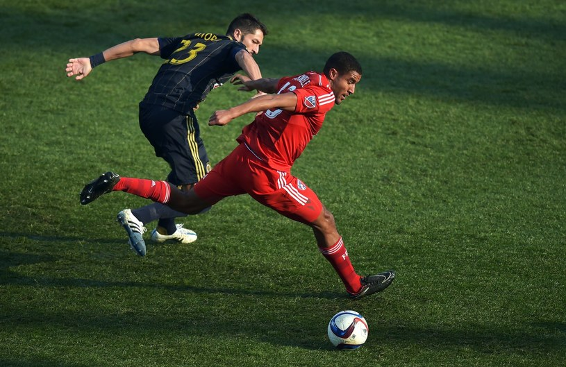Steven Vitoria (z lewej) w barwach Philadelphia Union /AFP