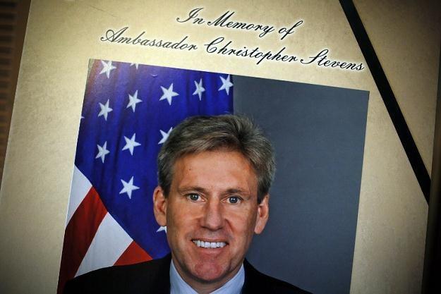 Stevens zginął 11 września podczas ataku demonstrantów na konsulat USA w Bengazi /AFP