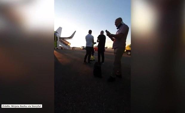 Stewardessę rzuciło na sufit, pasażerowie oblani wodą. Turbulencje w trakcie lotu do Bazylei