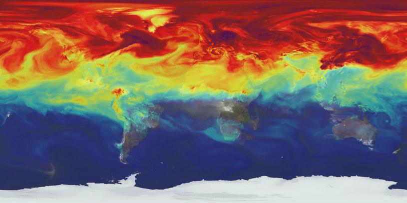 Stężenie CO2 w atmosferze jest najwyższe w historii! /materiały prasowe
