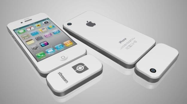 Sthreeam - gadżet pozwalający kręcić filmy 3D iPhonem /gizmodo.pl