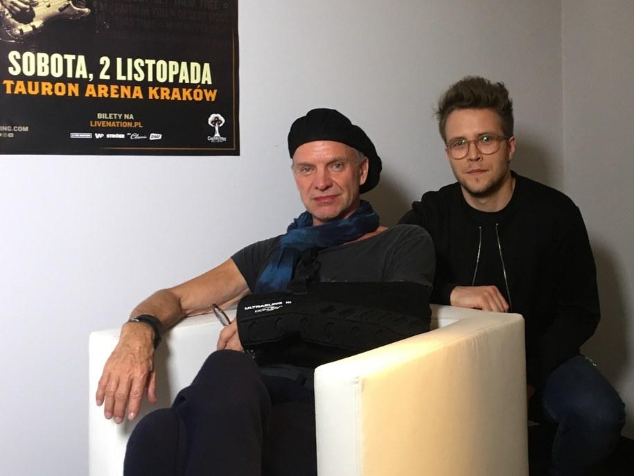 Sting dla RMF FM o głębokiej relacji z muzyką, ciągłym poszukiwaniu i słabości do Polski /RMF FM