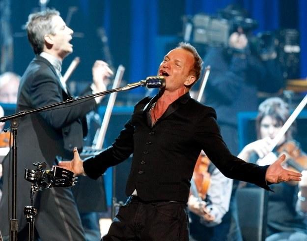 Sting wieczorem wystąpi w Poznaniu fot. Ethan Miller /Getty Images/Flash Press Media
