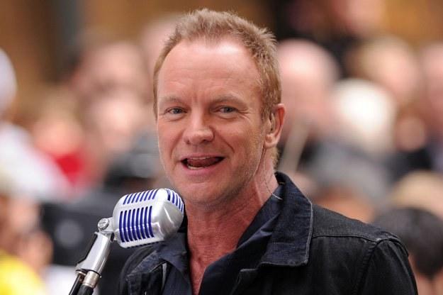 Sting wyruszył w trasę z orkiestrką symfoniczną - fot. Bryan Bedder /Getty Images/Flash Press Media
