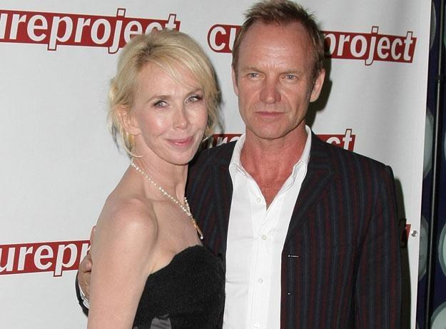Sting z małżonką lubią się przebierać fot. Neilson Barnard /Getty Images/Flash Press Media
