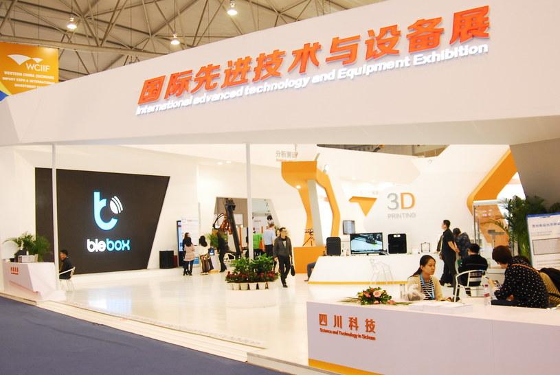 Stoisko Blebox.eu w chińskim Chengdu /materiały prasowe