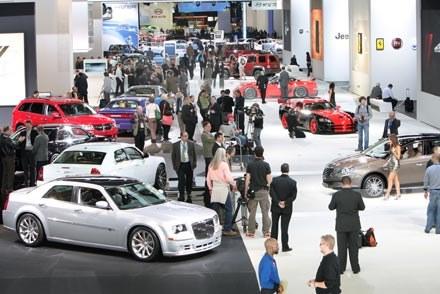 Stoisko Chryslera na NAIAS 2010 /