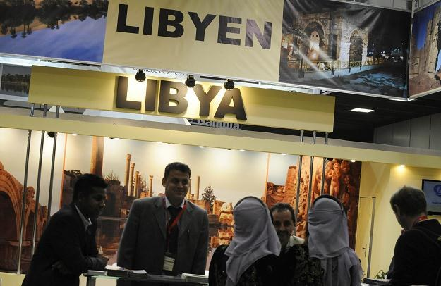 Stoisko libijskie /AFP