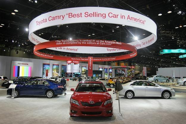 Stoisko Toyoty na Chicago Auto Show /AFP