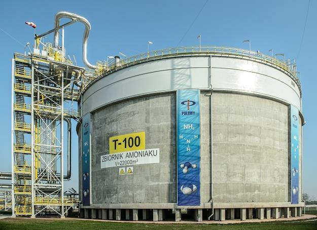 Stokaż amoniaku o pojemności 15 tys. ton zwiększy stabilność zaopatrzenia Puław /PAP