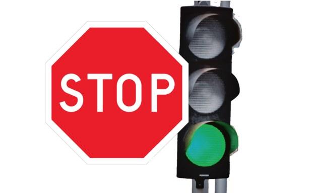 stop z sygnalizatorem /Motor