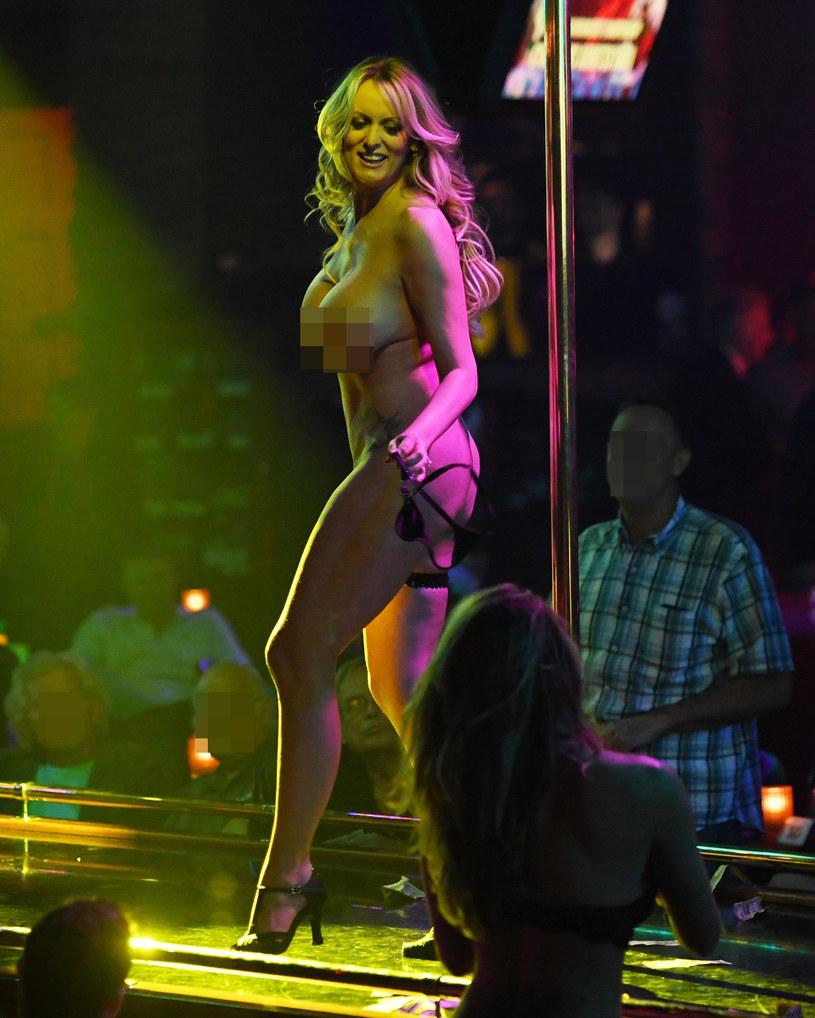 Stormy Daniels w klubie na Florydzie /Agencja FORUM