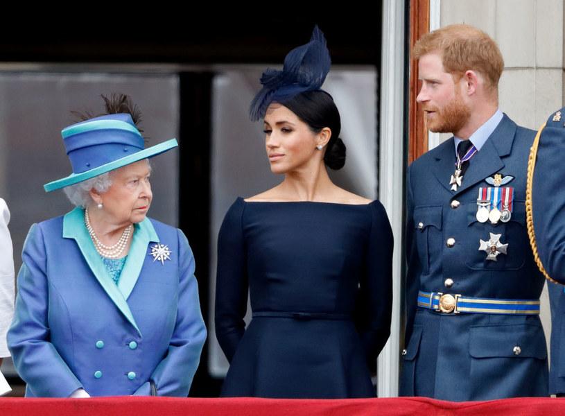 Stosunki Harry'ego i Meghan z królową dawno nie był tak dobre /Max Mumby/Indigo /Getty Images