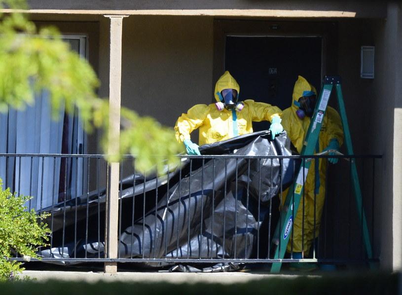 Strach przed ebolą wciąż rośnie /PAP/EPA