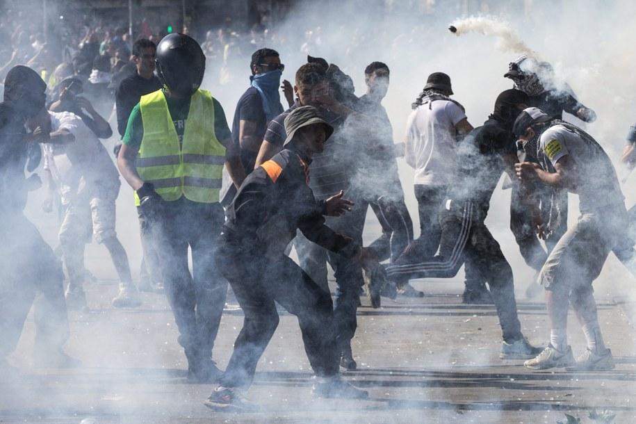 Stracia na Placu Republiki w Paryżu /ETIENNE LAURENT /PAP/EPA