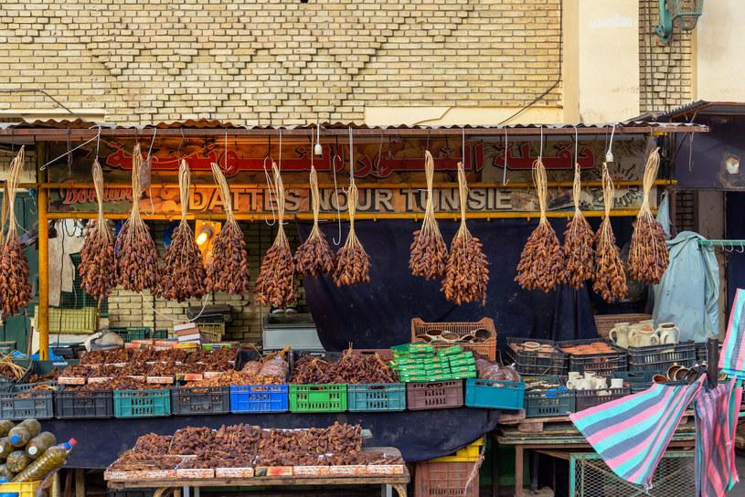 Stragana z daktylami. Tozeur, Tunezja /123RF/PICSEL