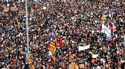 Strajk generalny w Katalonii. Tysiące ludzi na ulicach Barcelony