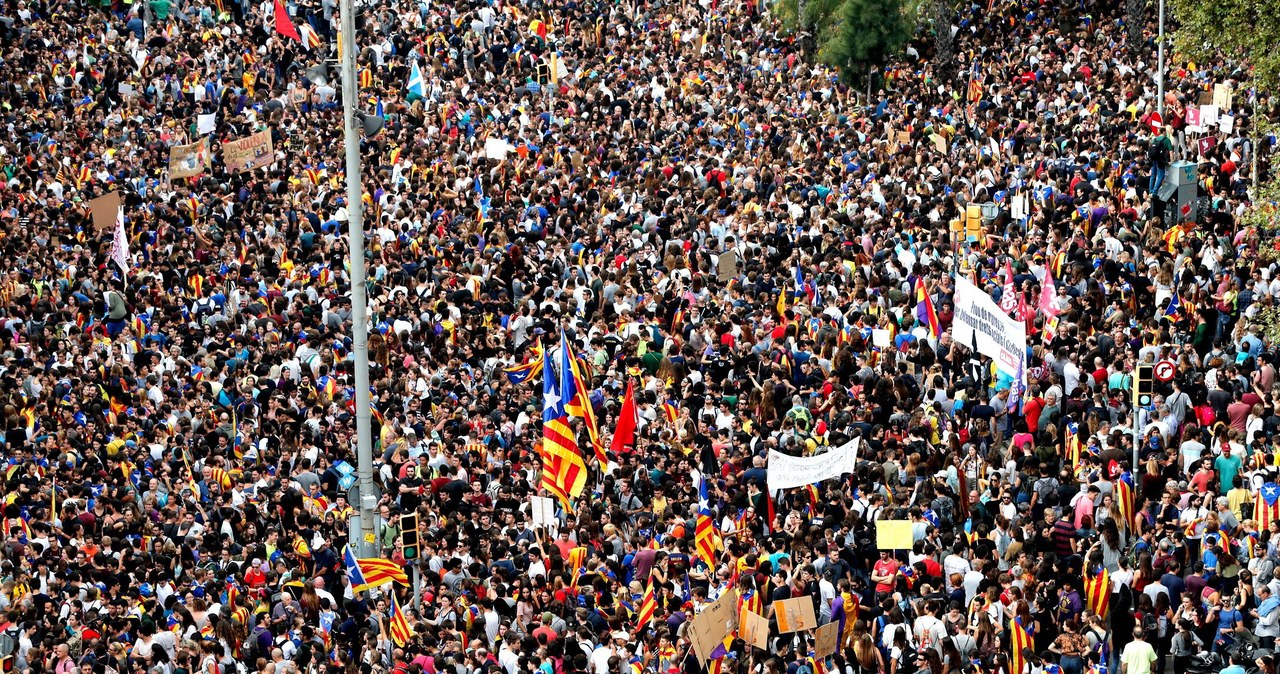 Strajk generalny w Katalonii