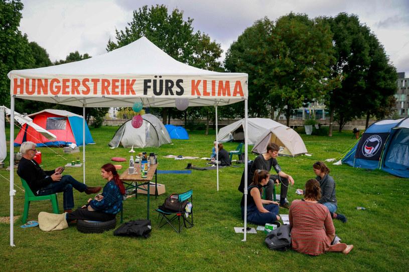 Strajk głodowy w Berlinie /ODD ANDERSEN / AFP /East News