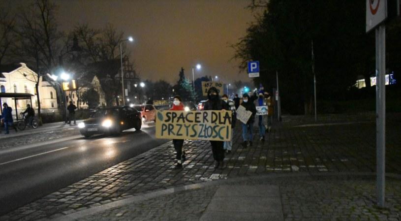 Strajk klimatyczny w Opolu /Młodzieżowy Strajk Klimatyczny Opole /facebook.com