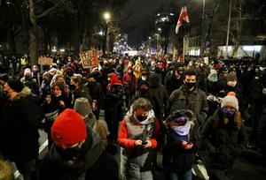 Strajk Kobiet: Protesty w całym kraju po publikacji Trybunału Konstytucyjnego
