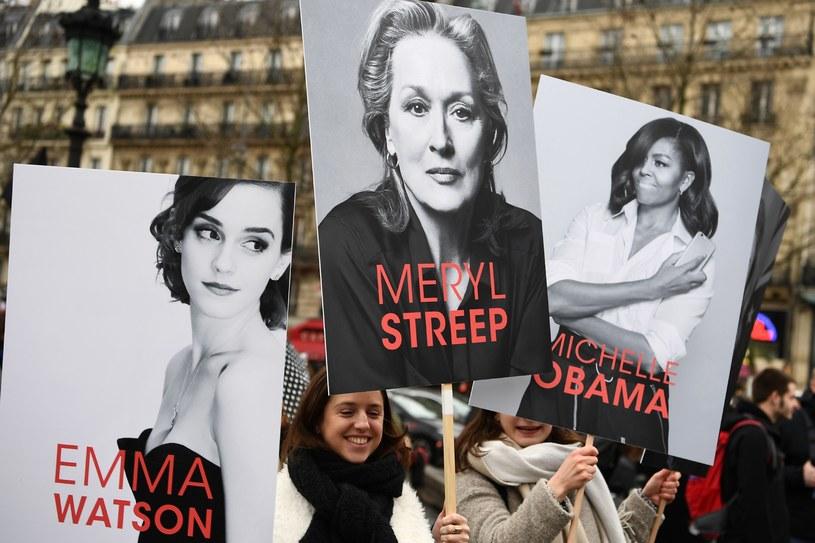 Strajk kobiet w Paryżu /GABRIEL BOUYS /East News