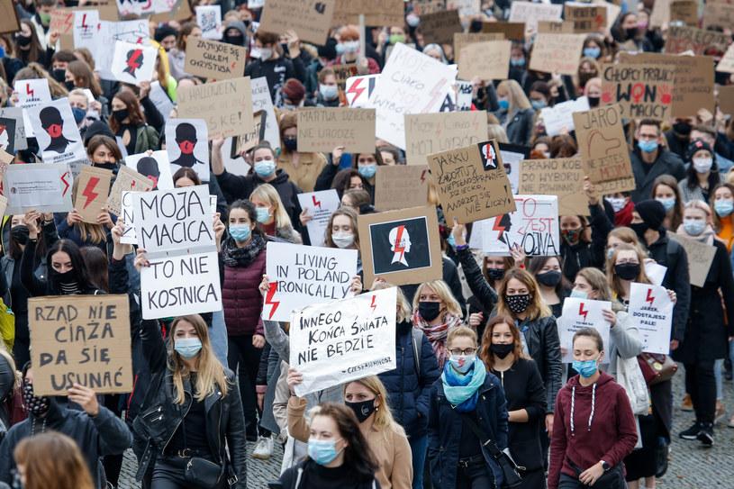 Strajk Kobiet /Tomasz Kawka /East News