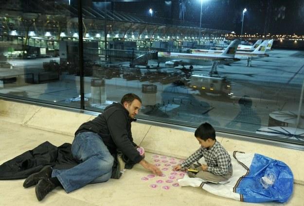 Strajk kontrolerów dotknął ponad 600 tysięcy pasażerów /AFP
