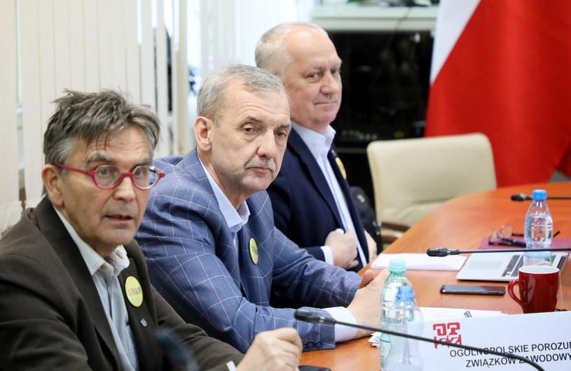 Strajk nauczycieli - cd. rozmów /Piotr Molecki /East News