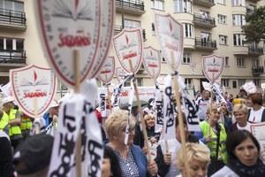 Strajk nauczycieli. Rozmowy (znów) zakończone niepowodzeniem