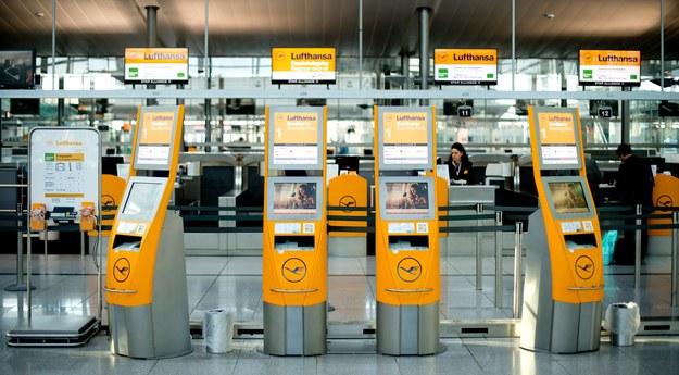 Strajk ostrzegawczy na niemieckich lotniskach