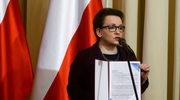 Strajk rodziców. Odpowiedź Anny Zalewskiej
