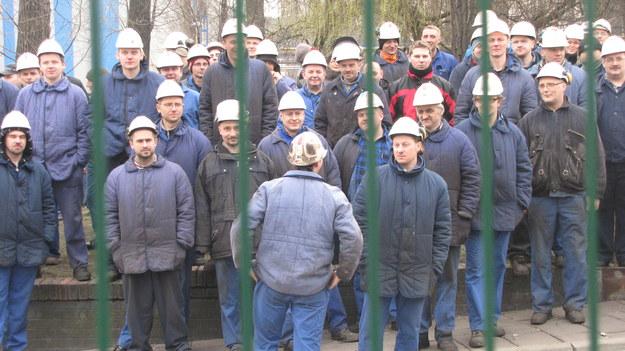Strajk w Hucie Batory w Chorzowie
